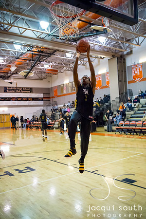 1/26/2018 - senior guard Daryn Alexander (3), Richard Montgomery v Rockville Boys Basketball, ©2018 Jacqui South Photography