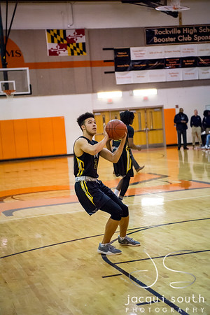 1/26/2018 - senior Will Brown (20),  Richard Montgomery v Rockville Boys Basketball, ©2018 Jacqui South Photography