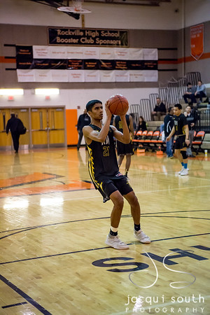 1/26/2018 - senior guard Nitin Bandi (21), Richard Montgomery v Rockville Boys Basketball, ©2018 Jacqui South Photography