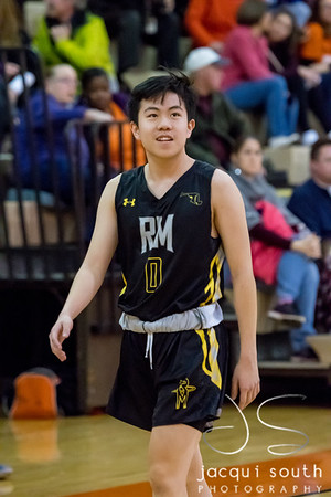 1/26/2018 - senior guard Michael Keung (0), Richard Montgomery v Rockville Boys Basketball, ©2018 Jacqui South Photography