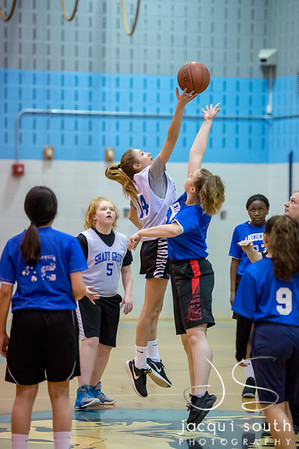 1/31/2018 - Loiederman v SGMS Girls Basketball, ©2018 Jacqui South Photography