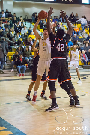 2/2/2018 - Rockville v Richard Montgomery Boys Basketball, ©2018 Jacqui South Photography