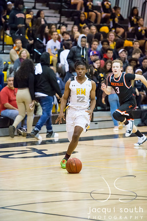 2/2/2018 - Rockville v Richard Montgomery Boys Basketball, ©2018 Jacqui South Photography