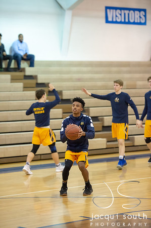 2/13/2018 - B-CC v Sherwood Boys Basketball, ©2018 Jacqui South Photography