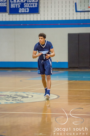 2/16/2018 - Springbrook v Blake Boys Basketball, ©2018 Jacqui South Photography