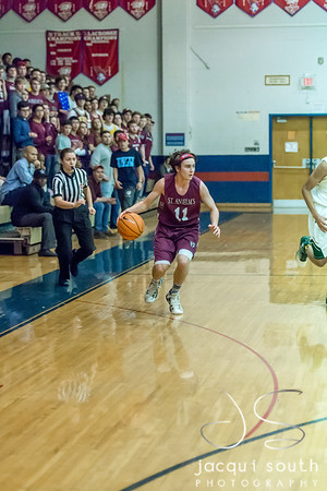 2/24/2018 - St. Anselm's Abbey v Sandy Spring Friends - PVAC Championship, ©2018 Jacqui South Photography
