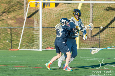 3/16/2018 - Magruder v Richard Montgomery Boys Lacrosse, ©2018 Jacqui South Photography
