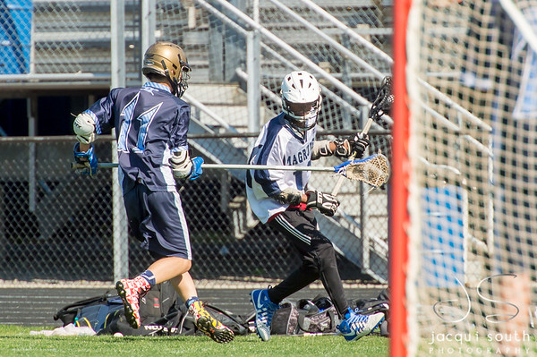 5/1/2018 - Springbrook v Magruder Boys JV Lacrosse, ©2018 Jacqui South Photography