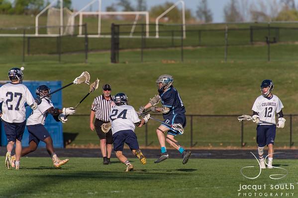 5/1/2018 - Springbrook v Magruder Boys Lacrosse, ©2018 Jacqui South Photography
