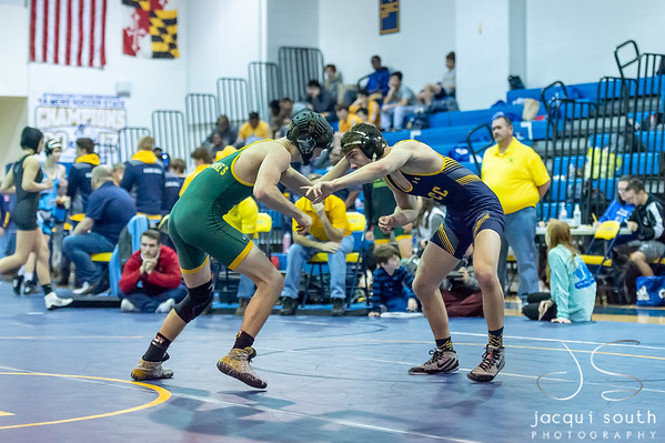 1/5/2019 - B-CC Wrestling, ©2018 Jacqui South Photography