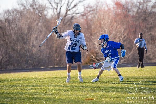 3/27/2019 - Magruder Boys JV Lacrosse, ©2019 Jacqui South Photography