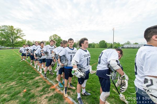 4/30/2019 - Gaithersburg v Magruder Boys Varsity Lacrosse, ©2019 Jacqui South Photography