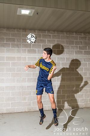10/2/2019 - B-CC Boys Soccer Seniors, ©2019 Jacqui South Photography
