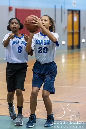 1/14/2020 - SGMS Girls Basketball, ©2019 Jacqui South Photography