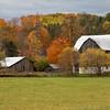 Barn near Minesing Ontario in Fall.