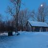 Farm Buildings in Blue Hour