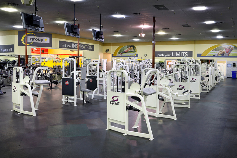 24 Hour Fitness, Club 079 - Charleston, Las Vegas, NV, 8/19/13.