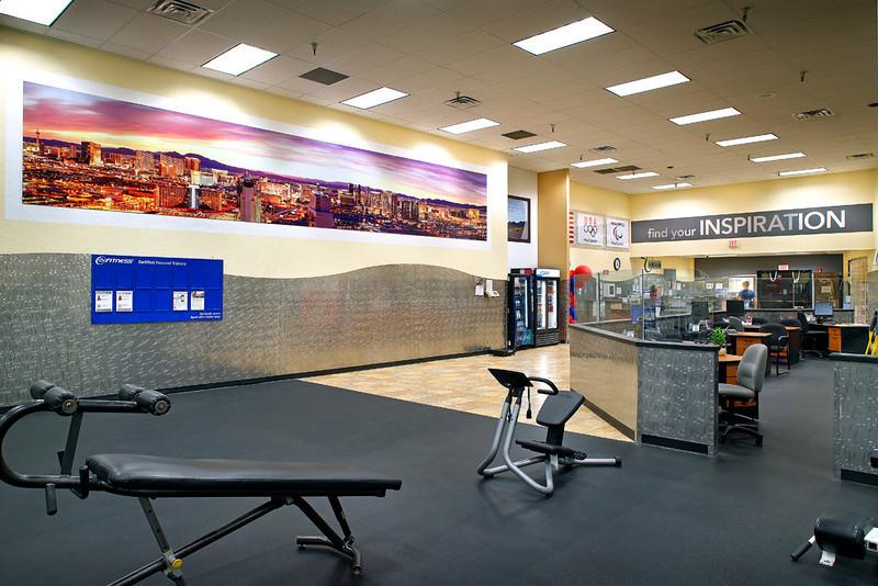 24 Hour Fitness, Club 162 - Las Vegas East, 8/19/13.