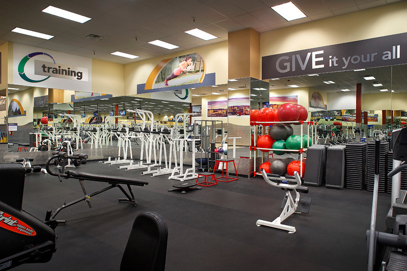 24 Hour Fitness, Club 162 - Las Vegas East, 8/19/13.
