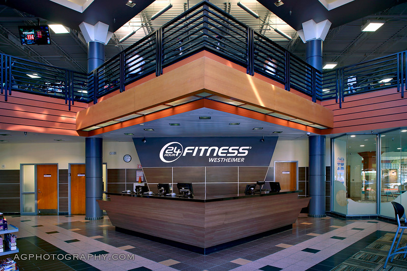 24 Hour Fitness - Club 209 Westheimer Rd, Houston, TX, 12/2/16.