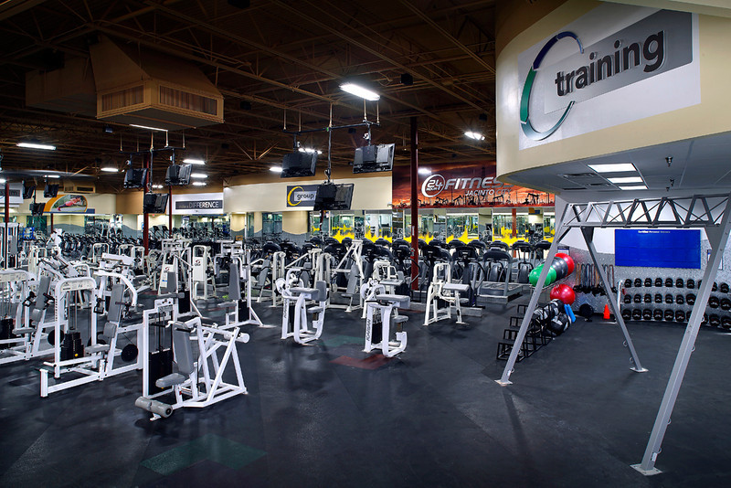24 Hour Fitness - Club 332 Jacinto City, TX, 3/28/14.