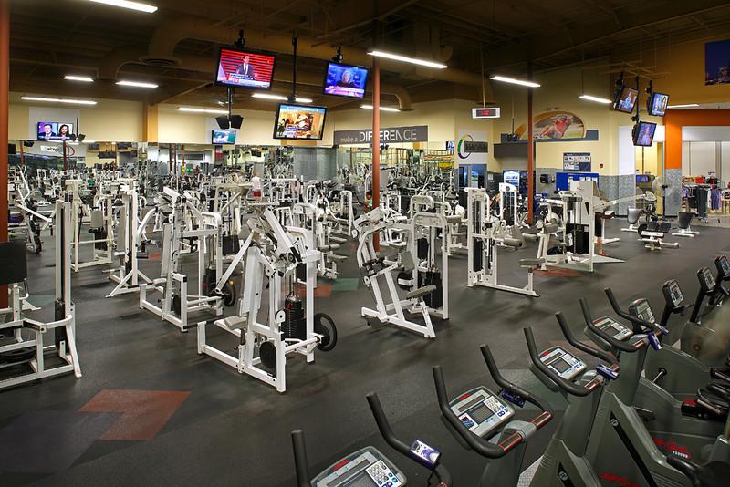24 Hour Fitness - 356 Houston Compaq Sport, 7/19/13.