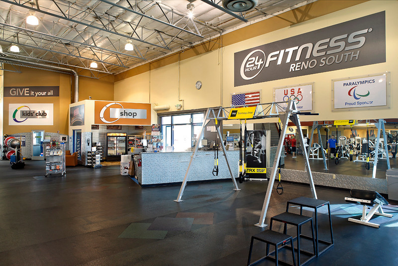 24 Hour Fitness - Club 549 Reno South, Reno, NV, 4/5/13.