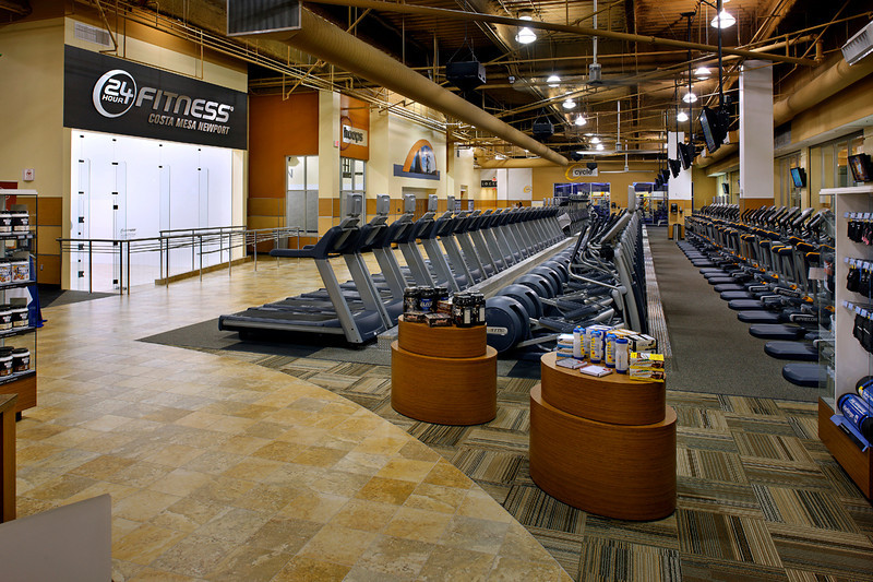 Commissioned by and licensed to 24 Hour Fitness and Group MacKenzie Architects.