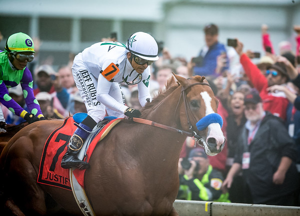 Justify wins the Preakness 5.19.18.