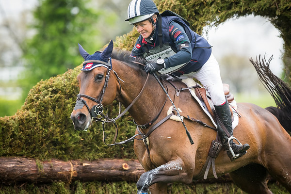 Lynn Symansky, and Donner, on the Cross Country 4.25.15.
