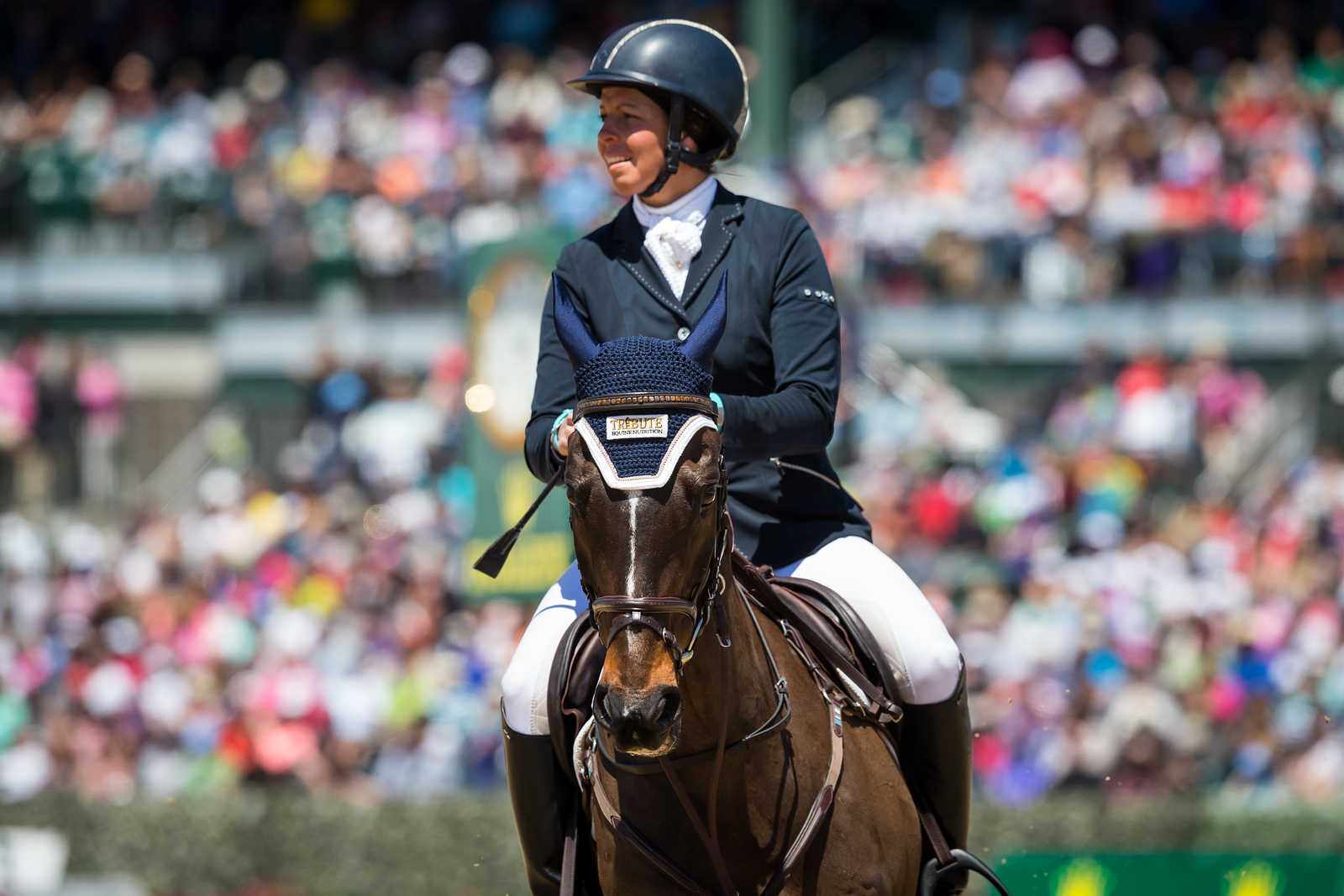 Meghan O'Donoghue, and Pirate in the Stadium Jumping 4.26.15.