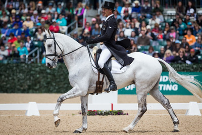 Avebury, and Andrew Nicholson, at the Rolex Three-Day Event 4.25.14.