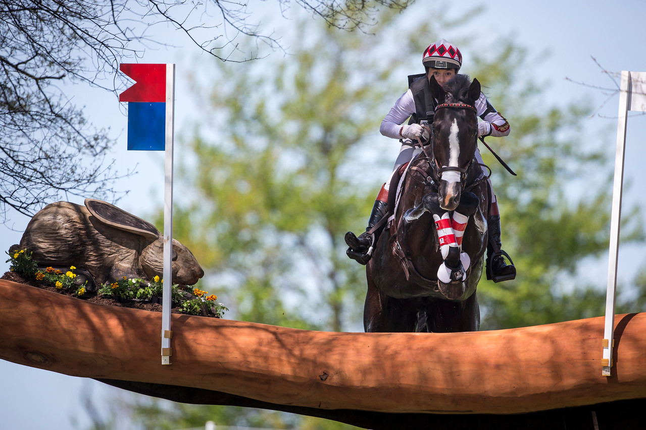 High Times and Jennifer McFall at Rolex 3-day on 4.26.2014.