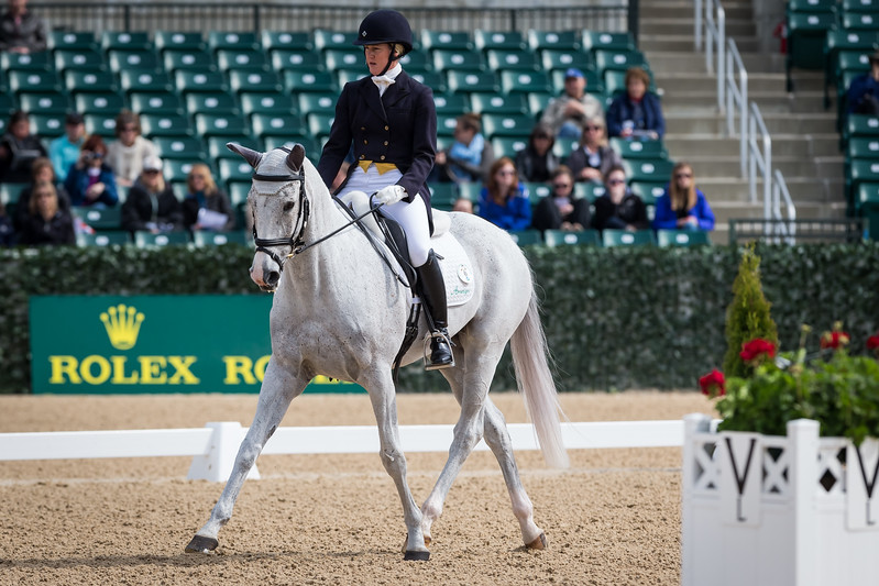 Copycat Chloe, and Allison Springer, at the Rolex Three-Day Event 4.24.14.