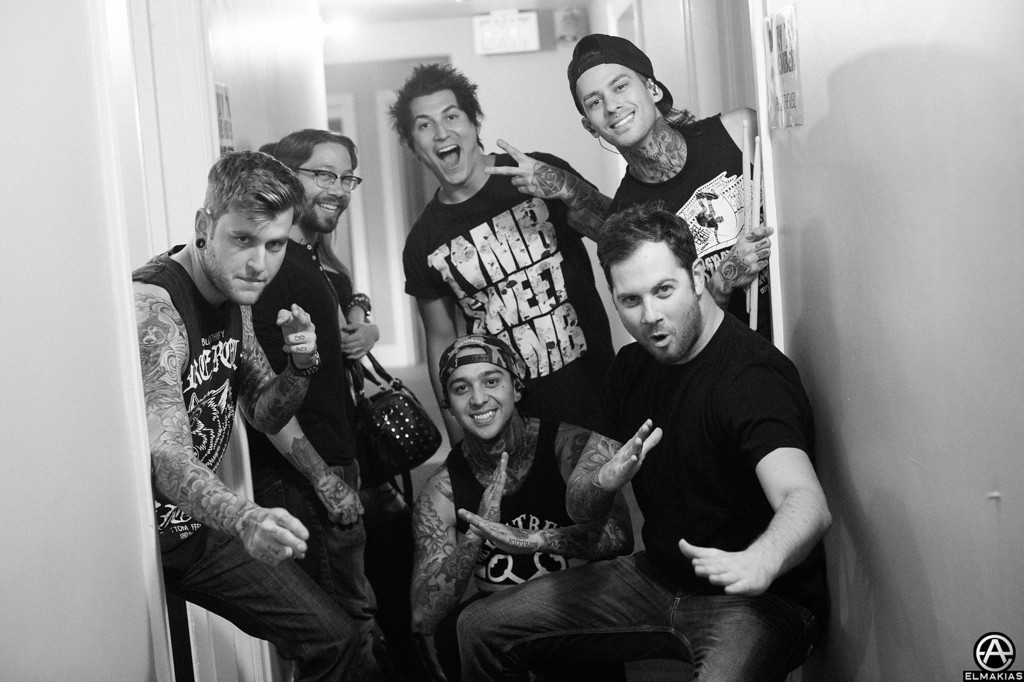 Pierce The Veil and friends