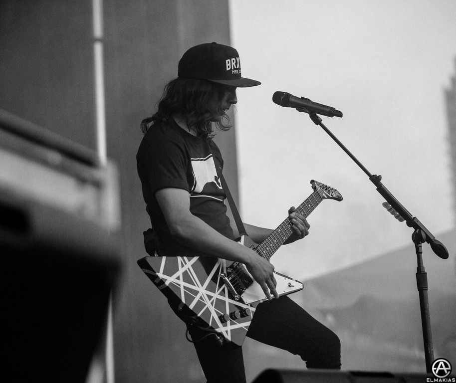 Vic Fuentes of Pierce The Veil - Right Back At It Again 2013 Canada Tour
