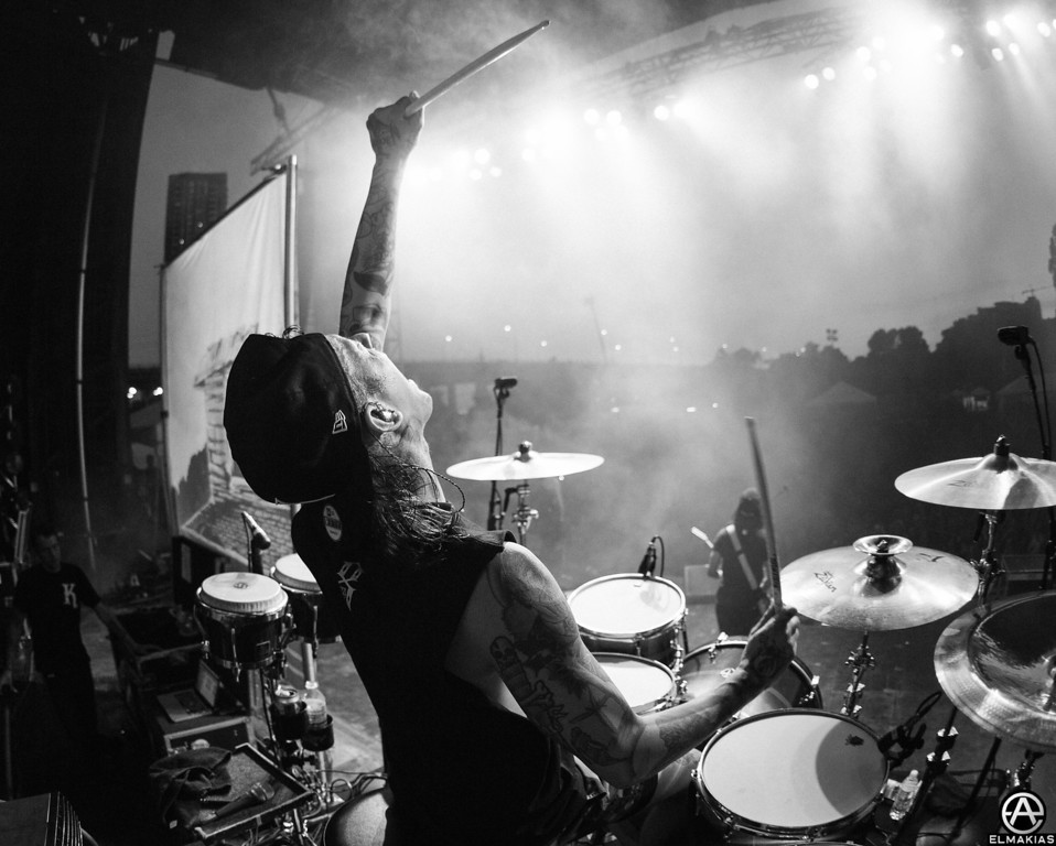 Mike Fuentes of Pierce The Veil