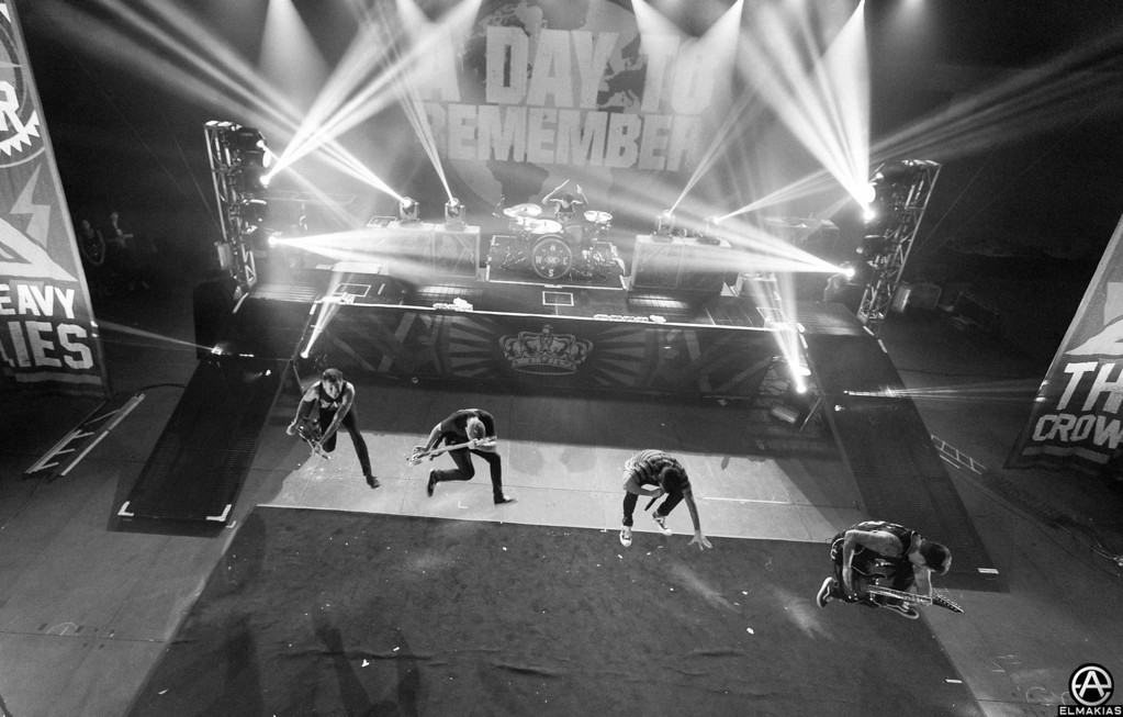 A Day To Remember in suspense