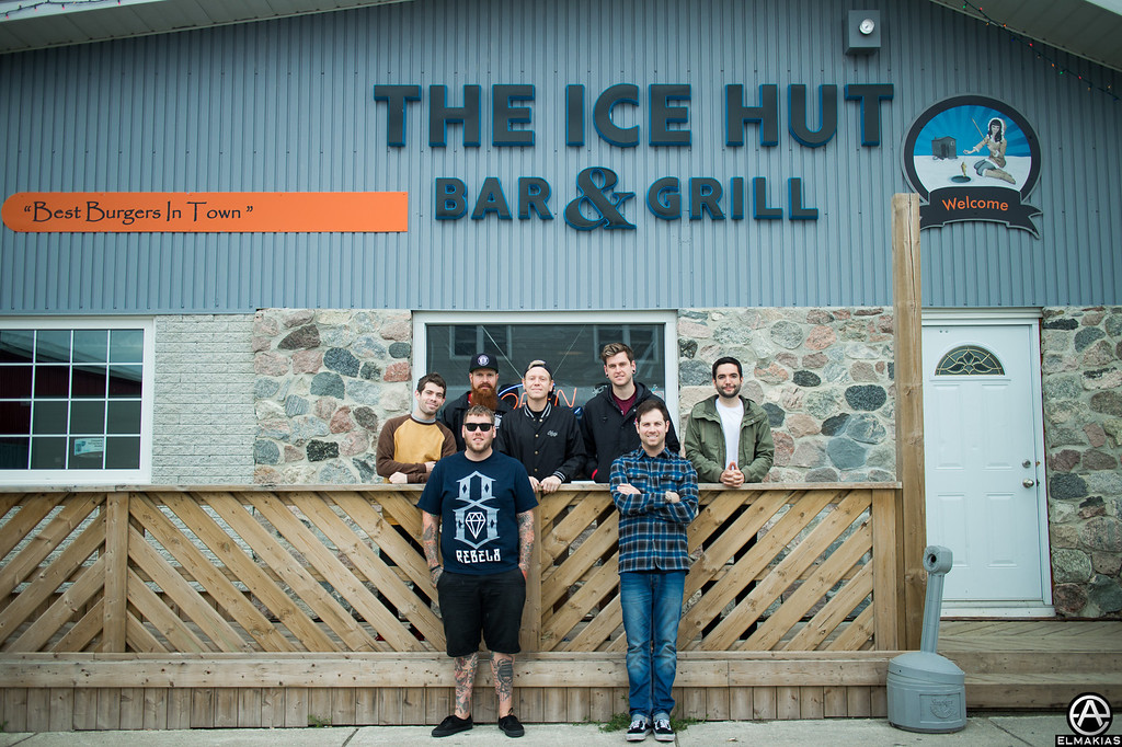 A Day To Remember at the Ice Hut
