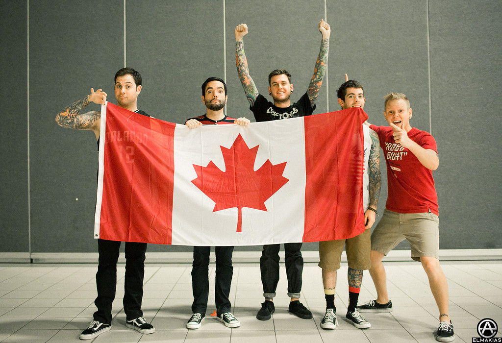 A Day To Remember loves Canada - Right Back At It Again 2013 Canada Tour