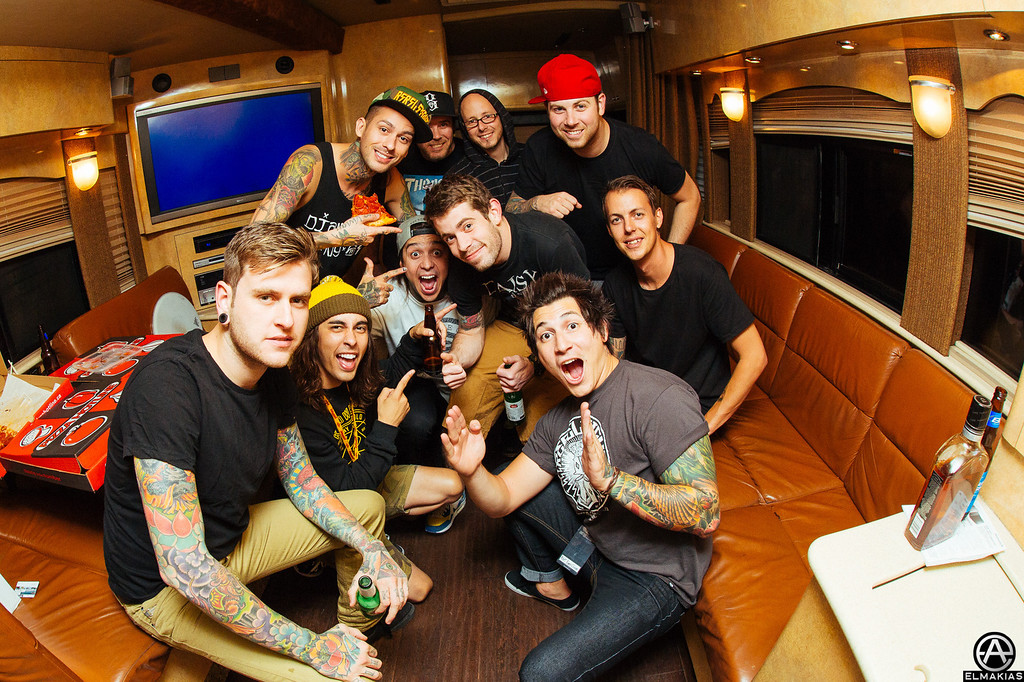 A Day To Remember and Pierce The Veil - Right Back At It Again 2013 Canada Tour