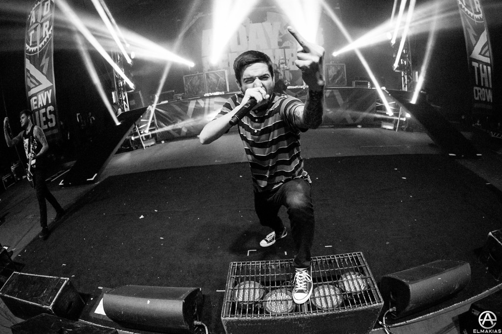Jeremy McKinnon of A Day To Remember