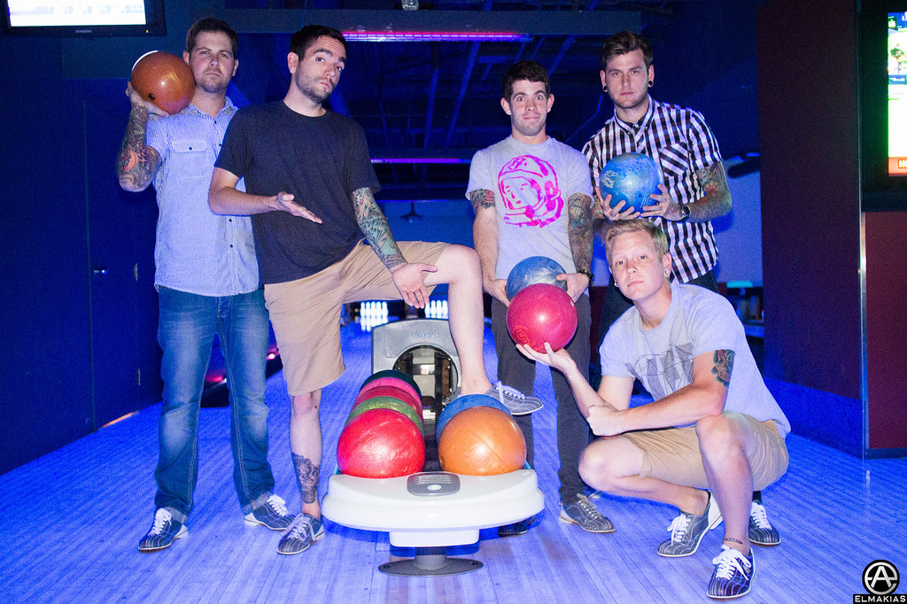 Bowling with ADTR - Right Back At It Again 2013 Canada Tour