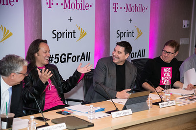 T-Mobile and Sprint 5GforAll