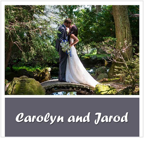 Carolyn and Jarod Album Proof 2 cover edit