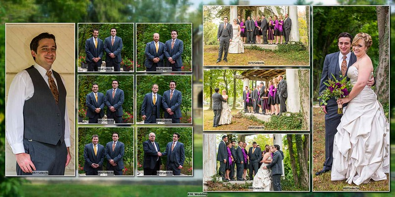 Julia and Matthew Album Proof 003 (Sides 4-5)
