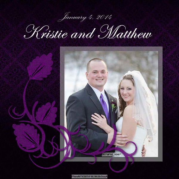 Kristie and Matt Album Proof 3 001 (Side 1)