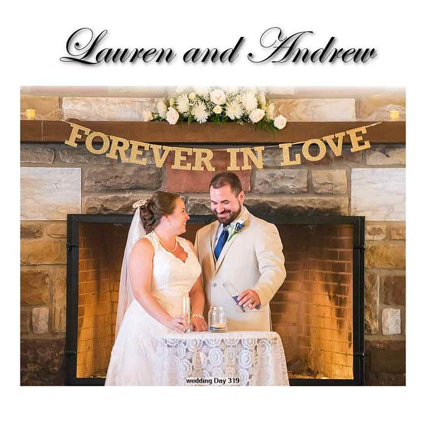 Lauren and Andrew Album Proof 1 001 (Side 1)
