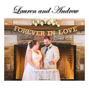 Lauren and Andrew Album Proof 1 001 (Side 1)