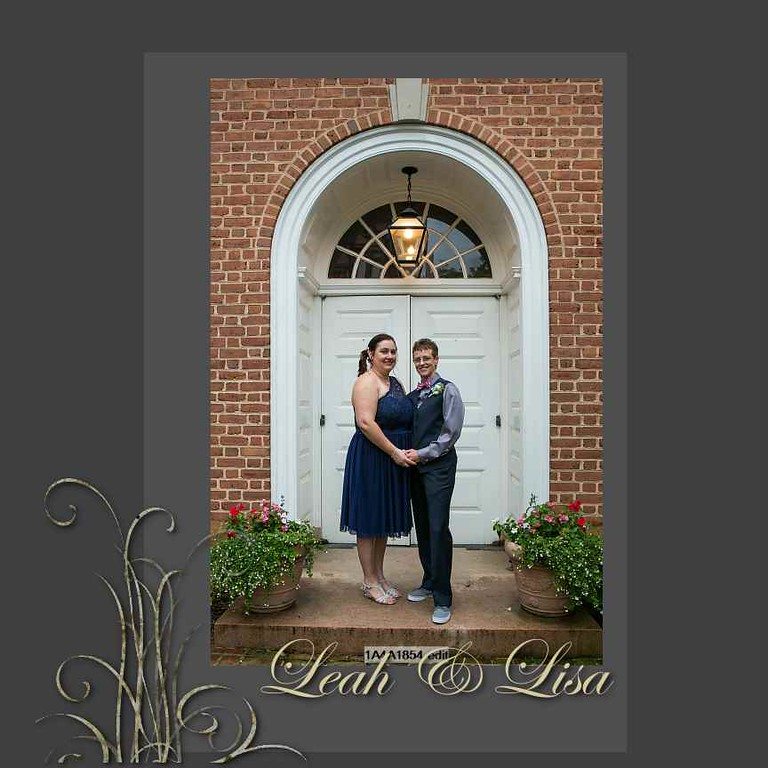 Leah and Lisa Album Proof 1 001 (Side 1)
